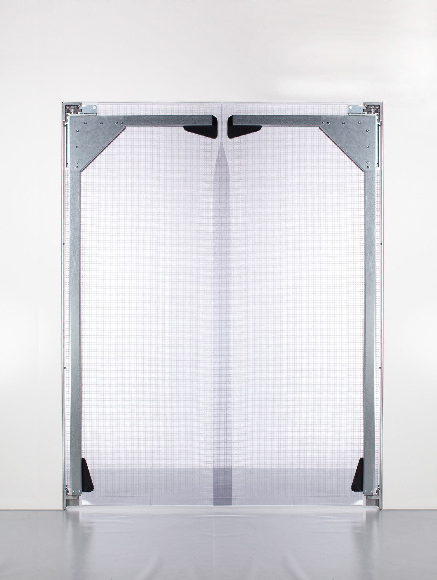 PVC Pendeltür XL 2 Flügel