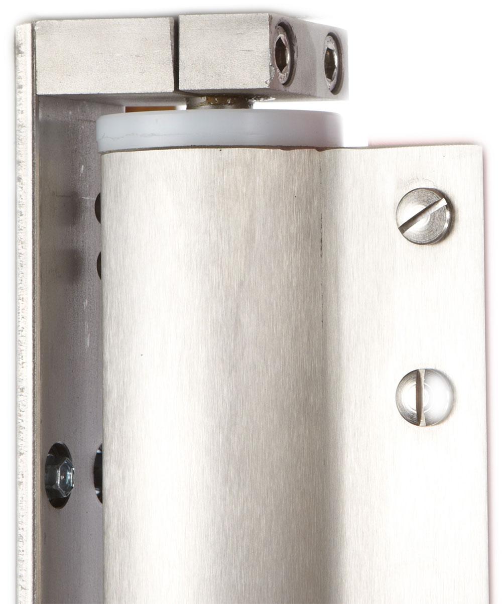 Pendeltür V2A-Türblatteinfassung