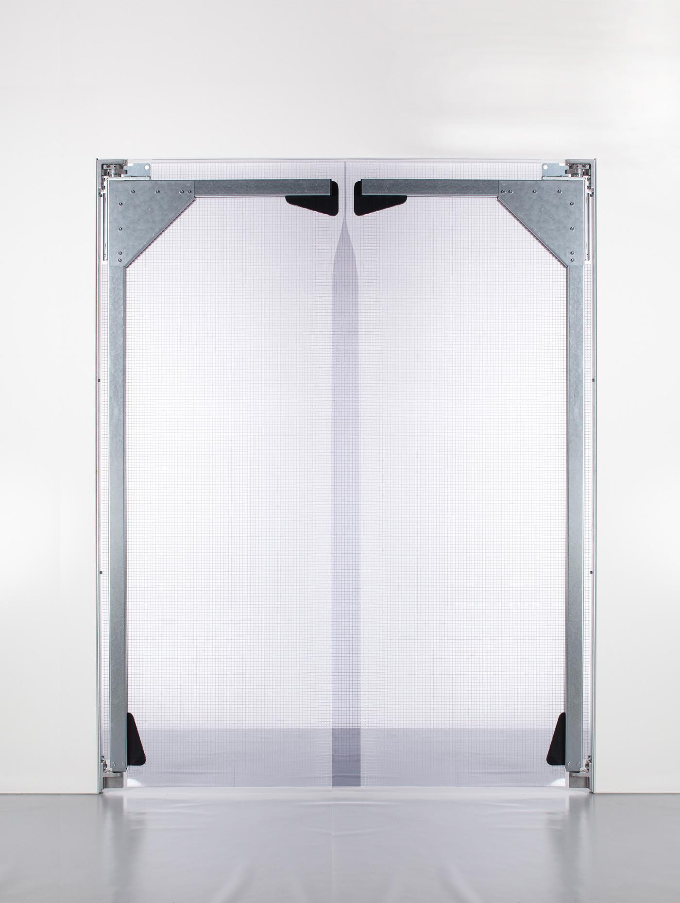 PVC Pendeltür L 2 Flügel
